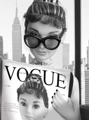 Lecture du Vogue à New York en 1961 de Michel Tréhet