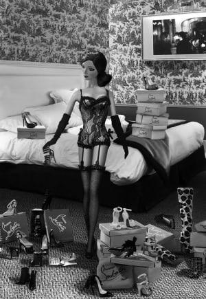 """Essayage dans la suite """"Un homme et une femme"""" de Michel Tréhet"""