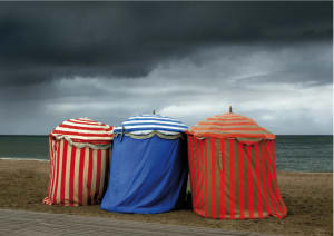 Les trois tentes.  de Michel Tréhet