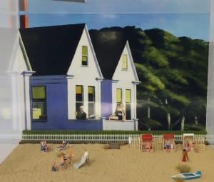 Hopper à la plage de Béatrice Lecomte