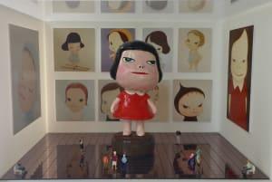L'exposition de Nara Yoshitomo de Béatrice Lecomte