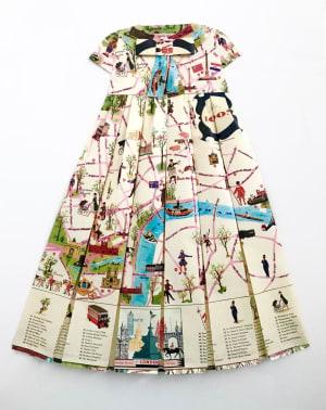 Robe Géographique - Mes nénuphars épatés  de Elisabeth Lecourt