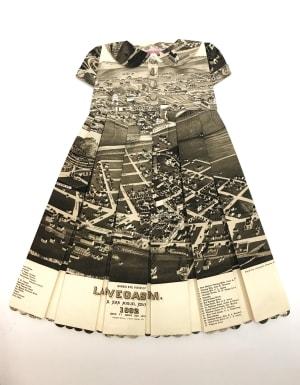 Robe Géographique -  Mes jetons, mes pantins à roulez roulette de Elisabeth Lecourt
