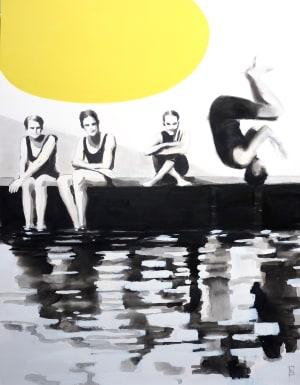 Le saut au ponton de Valérie Betoulaud