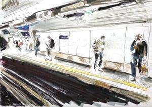 Metro Station - Alma Marceau  de Karin Boinet