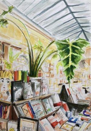 """Librairie """"Galignani""""  de Karin Boinet"""