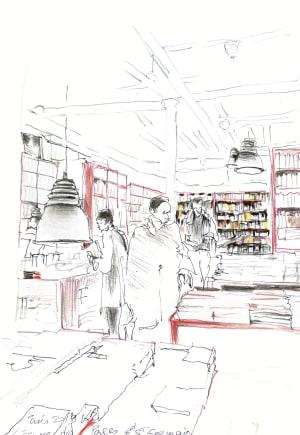 """Librairie """"L'écume des pages"""" de Karin Boinet"""