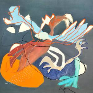 Laminaires gris 2 de Nathalie Leverger