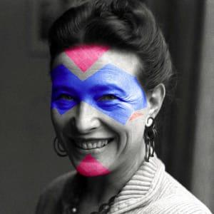 Simone de Beauvoir  de Jules Viera