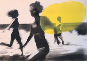 Les filles dans les vagues de Valérie Betoulaud