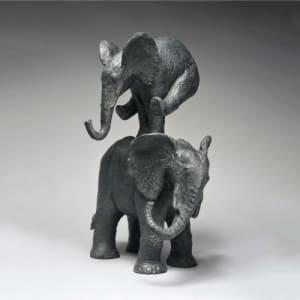 Eléphant saute de Sophie  Verger