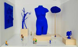 Exposition Yves Klein  de Béatrice Lecomte
