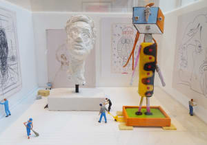 Au musée d'Art Moderne  de Béatrice Lecomte