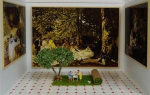 Le déjeuner sur l'herbe  de Béatrice Lecomte