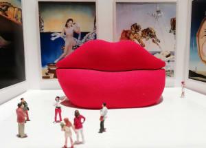 L'exposition Dali  de Béatrice Lecomte
