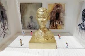 L'exposition de portraits  de Béatrice Lecomte