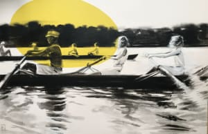 La course d'aviron  de Valérie Bétoulaud
