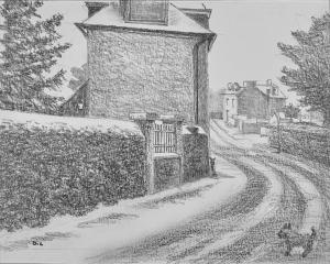 Le village  de Dominique Lecomte