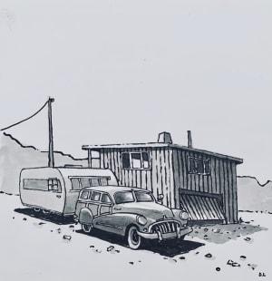 La caravane et la cabane  de Dominique Lecomte