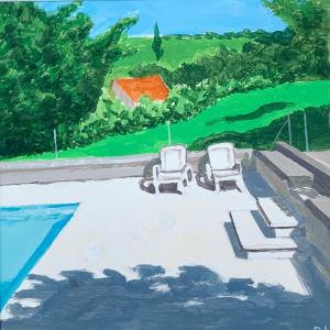 La piscine  de Dominique Lecomte