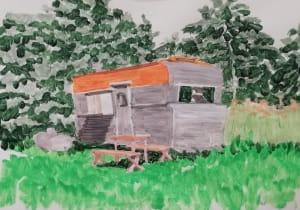 La caravane  de Dominique Lecomte