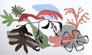 L'oiseau rouge et les laminaires  de Nathalie Leverger