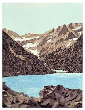 Lac de montagne  de Nicole  Guézou