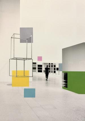 Introspection aux cubes  de Victoire d'Harcourt