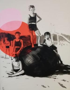 Les gosses de la plage de Valérie Bétoulaud