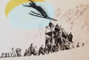 Le saut à ski de Valérie Bétoulaud