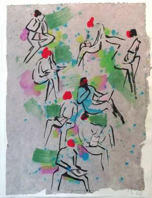 Temps au square  de Nathalie  Grenier