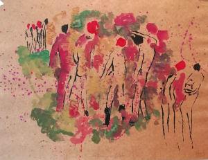 Automne en forêt de Nathalie  Grenier