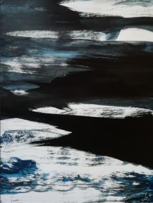 Waves - Série Noir bleu  de Nathalie Leverger