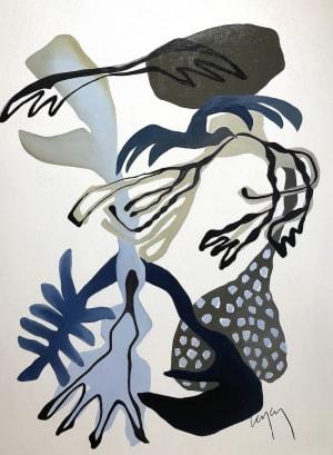 Laminaires bleus  de Nathalie Leverger