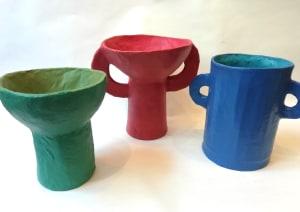 Vases et coupelles  de Catherine  Fontaliran