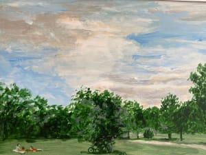 Le parc  de Dominique Lecomte