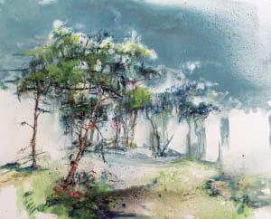 Le bois de pins de Karin  Jeanne Blum