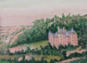 Le château de Dominique Lecomte