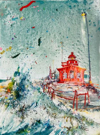 Les cabanes - Karin  Jeanne Blum