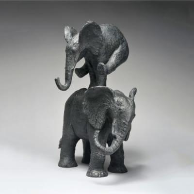 Eléphant saute - Sophie  Verger