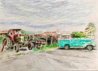 Le tracteur - Karin Boinet