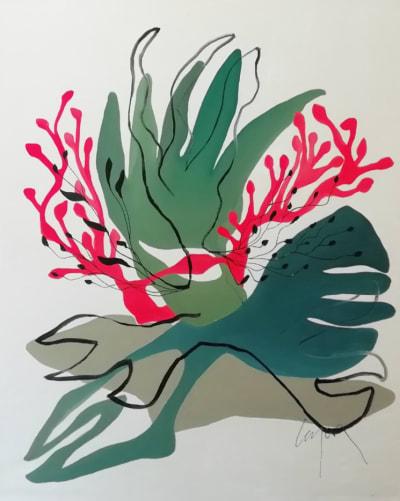 Waves - Grand format  - Nathalie Leverger