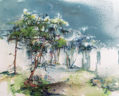 Les arbres  - Karin  Jeanne Blum