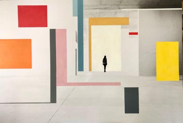 """Nouvelles """"Instrospections"""" - """"photos-peintures"""" à voir à la galerie"""