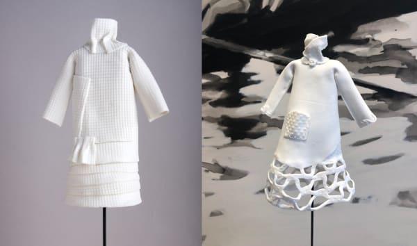 Les robes de porcelaine  - Violaine Ulmer