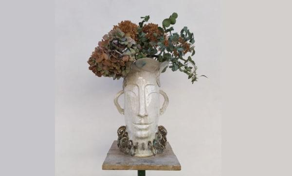 Vases visages - Clémentine Aguettant