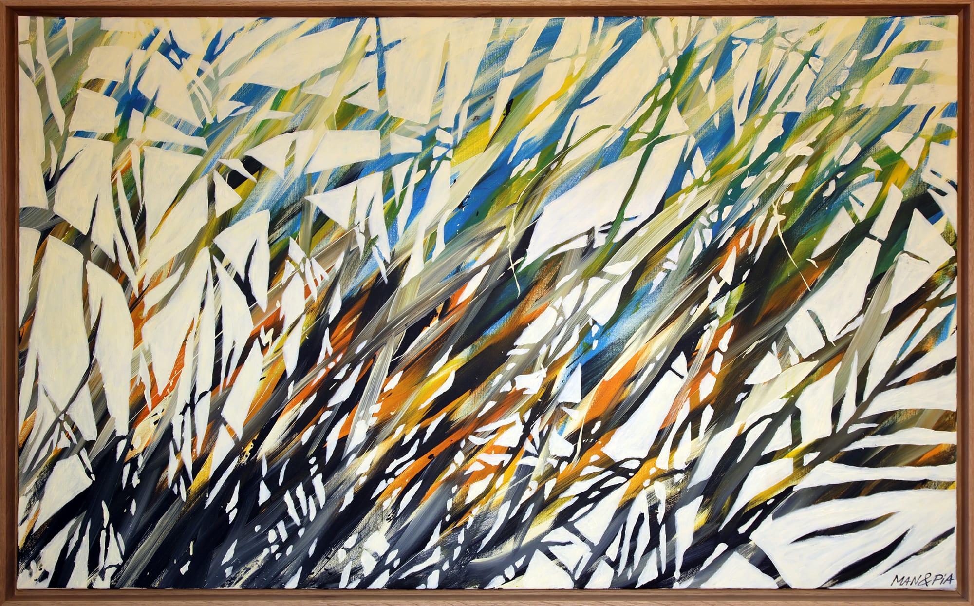 Mouvement - Peinture