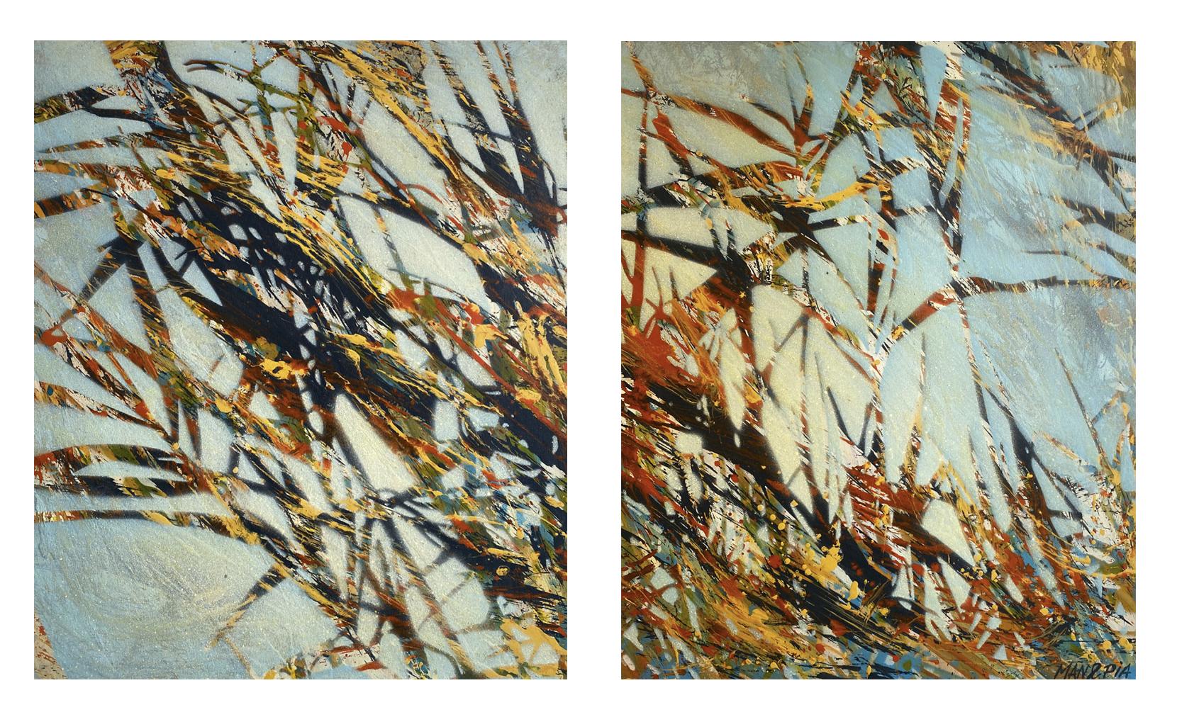 Fractales, oeuvres dansantes  Peinture