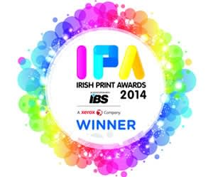 Irish Print Awards 2014 Winner