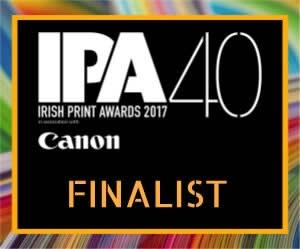 Irish Print Awards 2017 Finalist